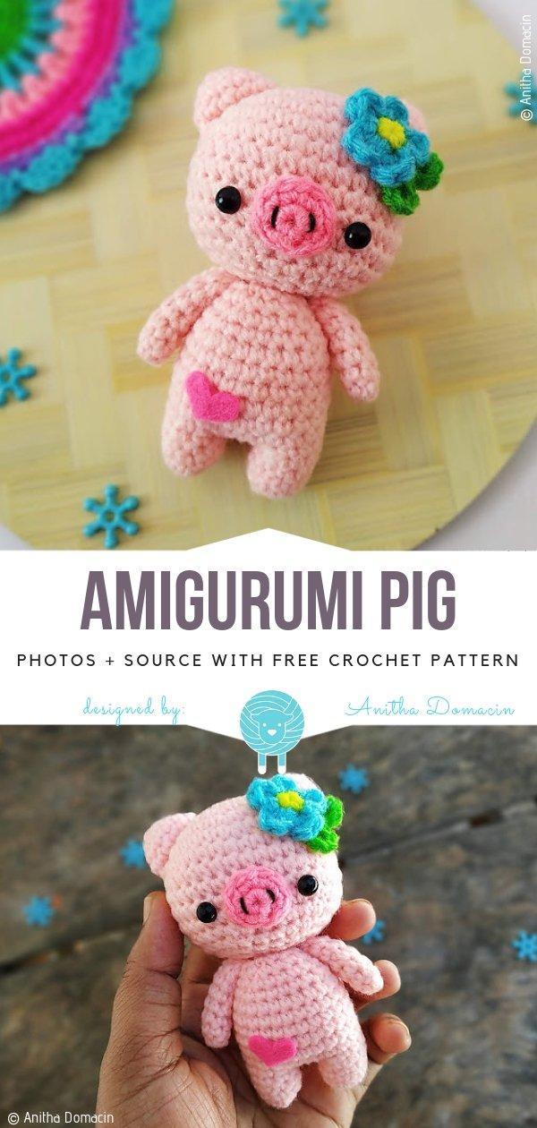 Crochet Along Pig | 1260x600